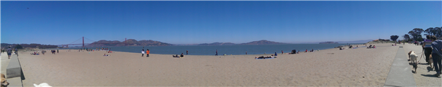 Crissy Field Lunch