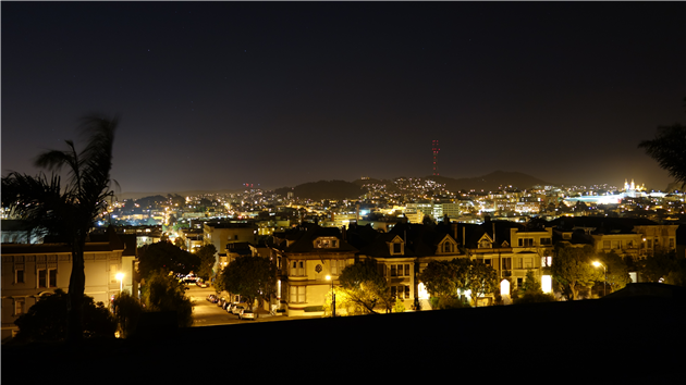From Alta Plaza Park