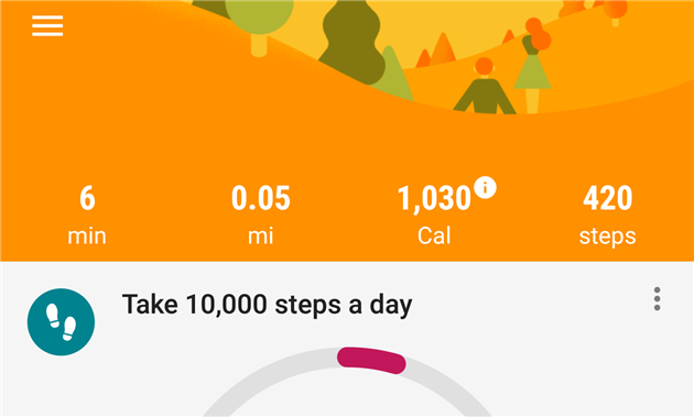 Google Fit Daily Step Export
