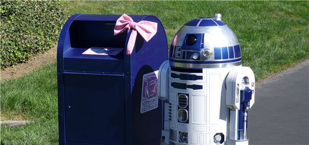 R2D2 at The Presidio