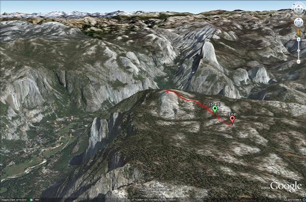 Sentinel Dome Route