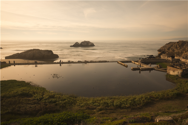 Sutro Baths in San Francisco