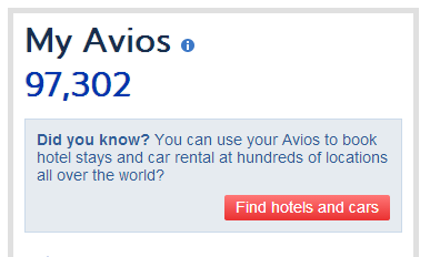 Did you know? You can use your Avios to book hotel stays and car rental...