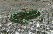 Buena Vista Park in Google Earth