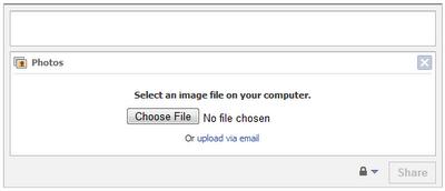 Facebook MMS Upload Step 2
