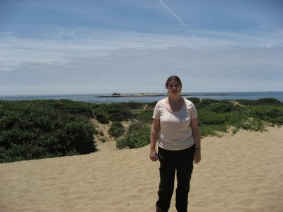 Gill with Año Nuevo Island in the background