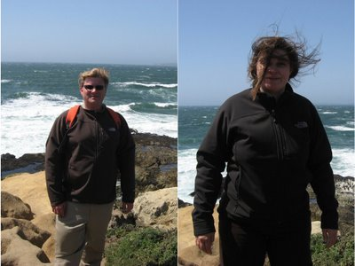 Rob & Gill at Tomales Point